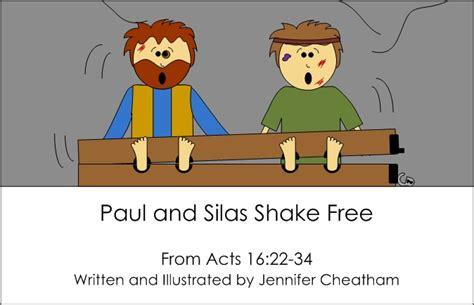 Paul And Silas Shake Free
