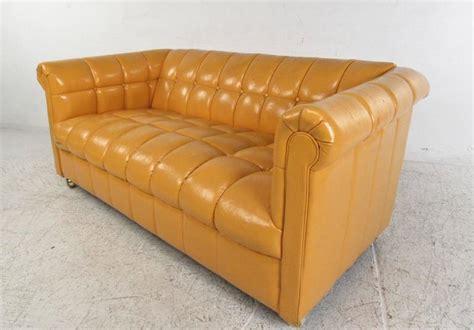 chesterfield sofa mid century modern mid century modern tufted chesterfield sofa for sale at