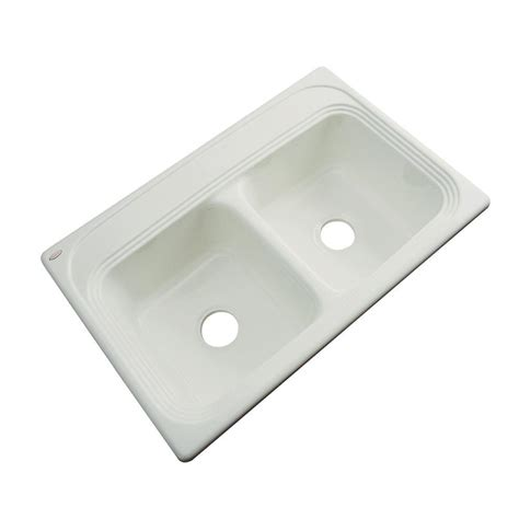 Acrylic Kitchen Sinks thermocast chesapeake drop in acrylic 33 in bowl