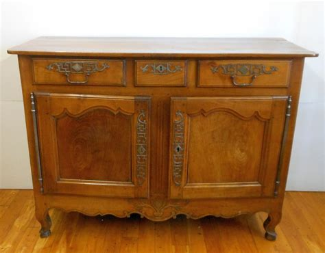 Antique Cherry French Provincial Sideboard C. 1840 Country