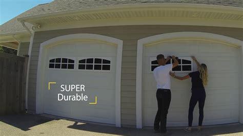 garage door accents coach house accents garage windows easy installation