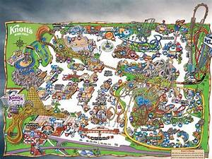 Knott's Berry Farm Park Map | Knott's Berry Farm | Knott's ...