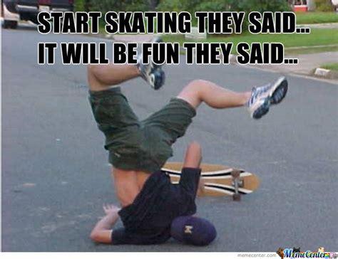 Skateboarding Meme - challenge excepted funny skateboarding meme picture