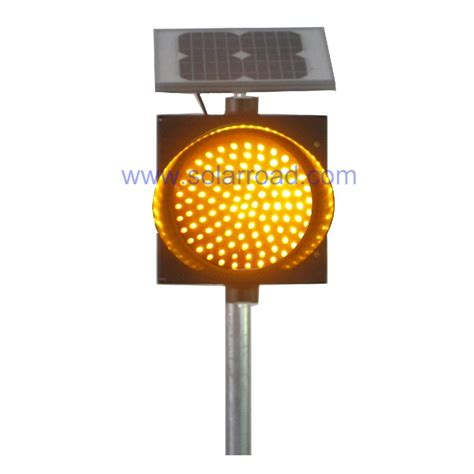 solar traffic warning light rs 705 solarroad china