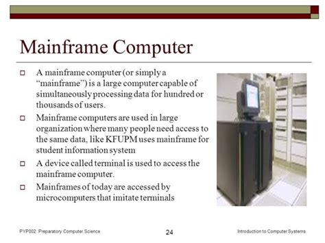 Meaning Of Mainframe Computer System