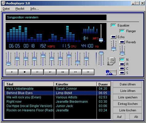 audioplayer  freewarede