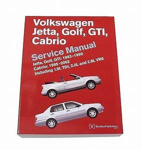 Bentley Diagram Repair Service Manual Volkswagen Vw Cabrio