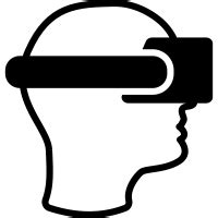 library  vr headset images vector  png files