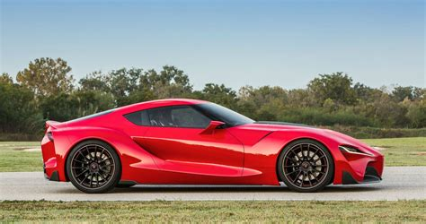 2018 Toyota Supra Red Color Full Review