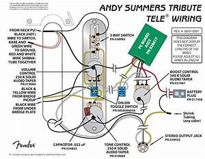 Squier Classic Vibe Telecaster Wiring Diagram