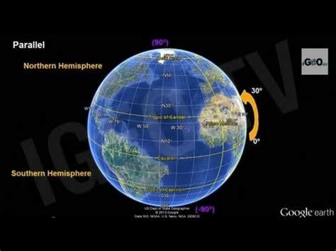 earth parallels  meridians latitude  longitude