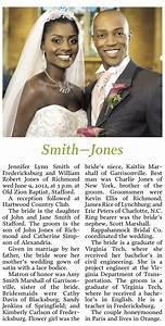 Newspaper wedding announcement wording ideas and for Wedding announcement ideas for newspaper