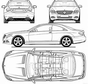 blueprints gt cars gt mercedes benz gt mercedes benz cl class With mercedes benz s cl