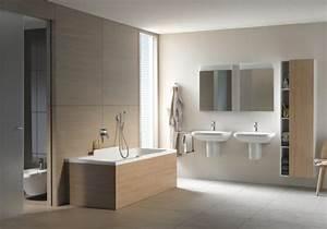 idee meuble salle de bain elegant par duravit With idee deco salle de bain bois