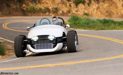 2017 Vanderhall Venice Three-wheeler Roadster Review