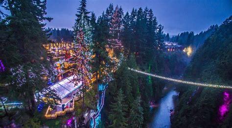 vancouver bc christmas lights capilano 39 s canyon lights return to north vancouver for