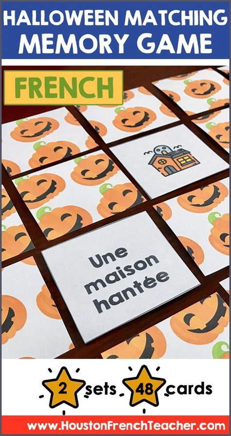 french halloween activities activites french halloween