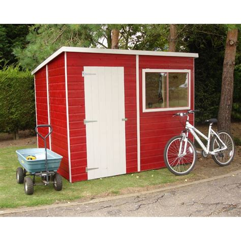 Shire Sheds by Shire Pent 8 X 6 Garden Shed