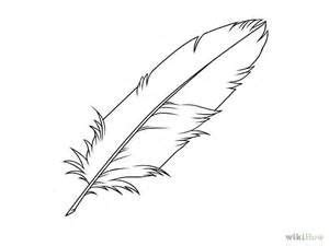 feather outline bing images feather drawing feather