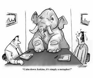Metaphor Cartoon Examples