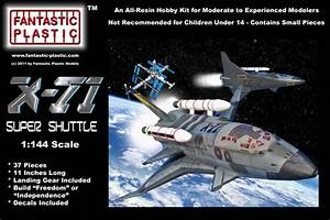 X-71 Super Shuttle 1:144 Resin Model Kit by Fantastic ...