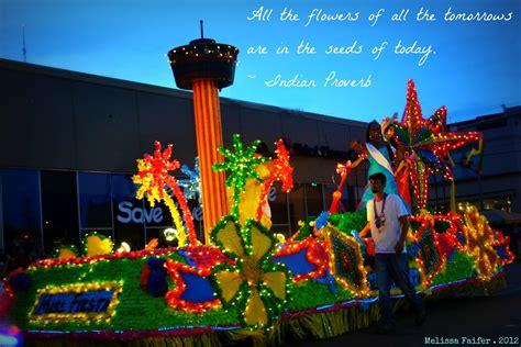 fiesta night parade float san antonio fiesta time