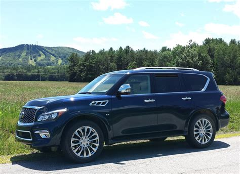 Review 2018 Infiniti Qx80 Awd Standing Out In A Crowd