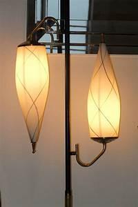 1950s italian brass floor lamp with opaline cesendello for 1950 s brass floor lamp