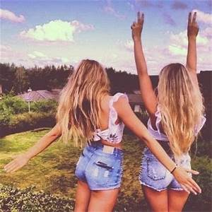 best friends, tumblr, friendship goals, goals, sisters ...