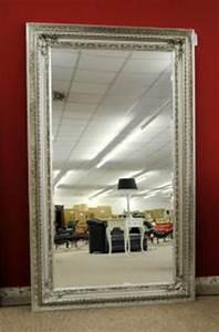 Großer Spiegel Silber : grosser spiegel wandspiegel farbe shiny silber mit facettenschliff 120 x 200 cm kaufen bei ~ Indierocktalk.com Haus und Dekorationen