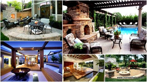 Beautiful Patio Designs by 16 Extraordinary Beautiful And Relaxing Patio Designs For