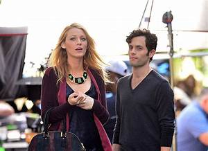 """Blake Lively and Penn Badgley didn't tell the """"Gossip Girl ..."""