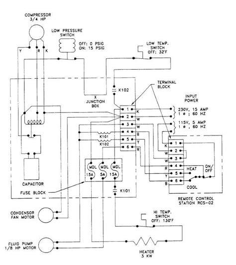 Figure Heater Chiller Module Electrical Schematic