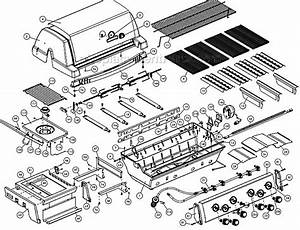 Broil King 9887-47 Parts List And Diagram