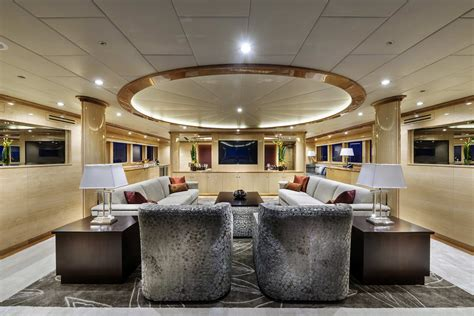 Luxury Yacht Zenith  Interior — Yacht Charter