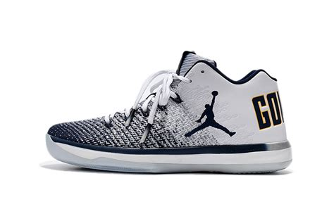 Nike Air Jordan Xxxi Low California White Blue Men