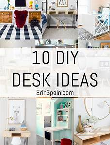 10, Diy, Desk, Ideas, Favorite, Desk, Chairs, And, Accessories