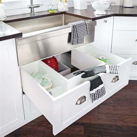placard sous evier cuisine un tiroir sous l 39 évier cuisine inspirations