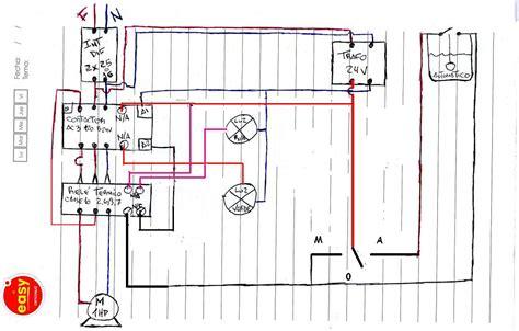 circuito timer con contactor inversi 243 n de giro motor iii pasando por paro con circuito con