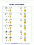 Equivalent Fractions Worksheet Grade 4 Free Equivalent Fractions Worksheets With Visual Models