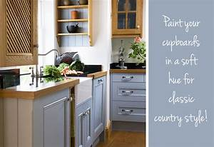 how to create a cosy country kitchen by kimberly duran With what kind of paint to use on kitchen cabinets for create your own sticker