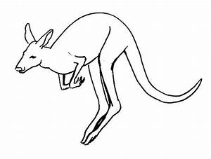 how to draw a cartoon kangaroo step 4. print tutorial. how ...