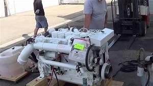 Seaboard Marine - Cummins Marine 370b Engine Test