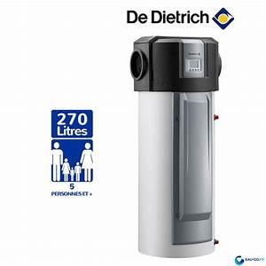 Chauffe Eau Thermodynamique Prix : chauffe eau thermodynamique 270l de dietrich twh300e kaliko ~ Melissatoandfro.com Idées de Décoration
