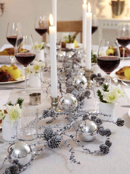 Tischdeko Weihnachten Weiß Silber by Tischdekoration F 252 R Weihnachten Zum Selbermachen