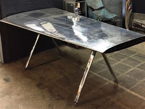 airplane wing desk wing desk by propellart handkrafted