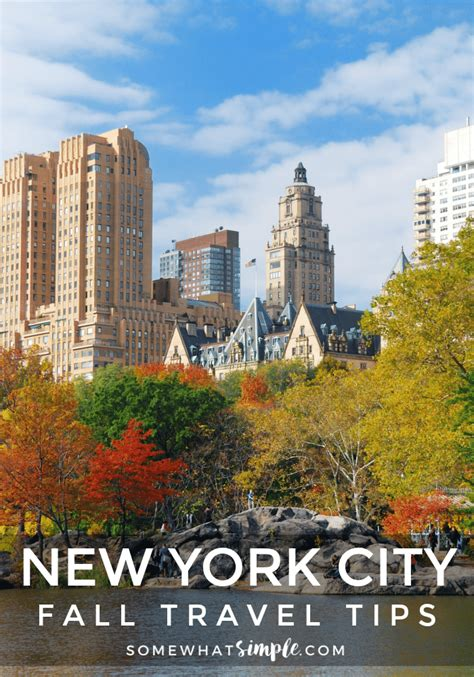 New York City Travel  Mini Guide Of Things To Do In The Fall