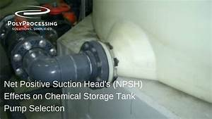Net Positive Suction Head's (NPSH) Effects on Chemical ...