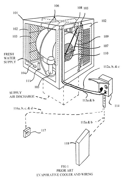 patent us6357243 remote system for evaporative