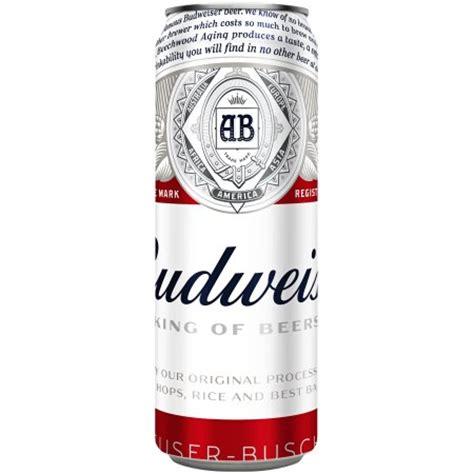 bud light can sizes budweiser beer 25 fl oz can walmart com